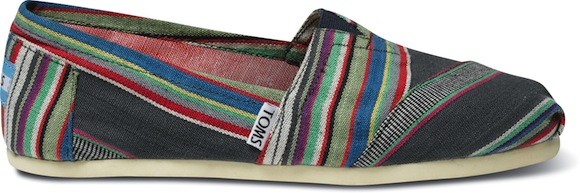 TOMS_W-Denim Multi Stripe Classic-S-SP13